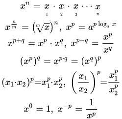 Степенная функция решение задач как решить задачу методом контурных токов онлайн